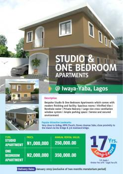 One Room Self Contained, Fola Agoro, Yaba, Lagos, Self Contained (single Rooms) for Sale