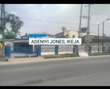 Commercial Land of 1954 Sqm, Adeniyi Jones, Ikeja, Lagos, Commercial Land for Sale