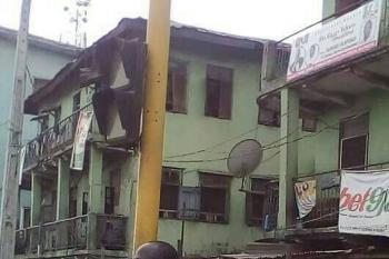 Twin 2 Storey Building on 4&1/2 Plots  in Mushin, Lagos, Agege Motor Road, Mushin, Lagos, Block of Flats for Sale