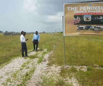 Land, Peninsula Homes, Akodo Ise, Ibeju Lekki, Lagos, Residential Land for Sale