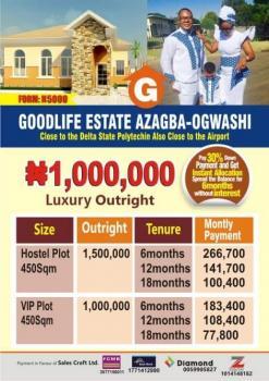 Estate Land, Ogwashi, Asaba, Delta, Residential Land for Sale