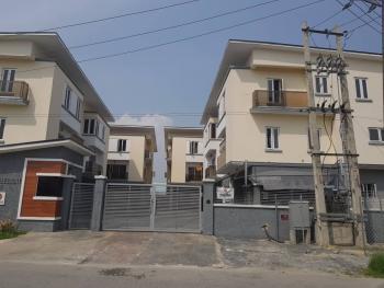 Newly Finished 4 Bedroom Terrace Duplex with Bq in Chevron Drive, Chevron Drive, Lekki, Chevy View Estate, Lekki, Lagos, Terraced Duplex for Sale