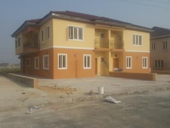 4 Bedroom  Luxury House (serviced with  24/7 Power and Treated Water), 5minutes Away From Novare Mall, Sangotedo, Ajah, Lagos, Semi-detached Duplex for Sale