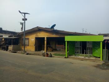 Demolishable Bungalow, Arowojobe Street, Oshodi, Lagos, Mixed-use Land for Sale