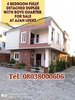 Fully Detached 4 Bedroom Duplex with Boys Quarter, Alaguto, Graceland Estate, Ajah, Lagos, Detached Duplex for Sale