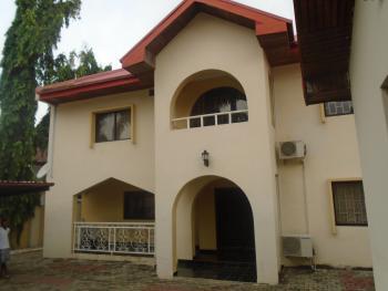 5 Bedroom Semi-detached House, Lake Alau, Off Osun Crescent, Maitama District, Abuja, Semi-detached Duplex for Rent