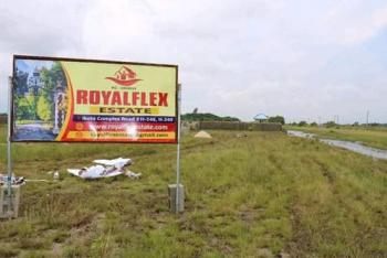 Land, Royal Flex Estate, After Lacampagn Tropicana  Close to Lekki Free Trade Zone,lekki Deep Seaport, Akodo Ise, Ibeju Lekki, Lagos, Residential Land for Sale