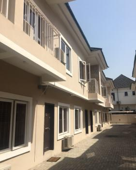 Brand New 3 Bedroom Terrace Duplex with a Bq, Osapa, Lekki, Lagos, Terraced Duplex for Rent