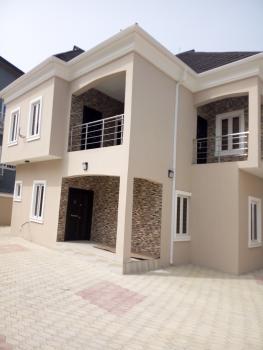 Very Spacious 4 Bedroom Duplex with Bq, Before Sangotedo Shoprite, Peninsula Garden Estate, Ajah, Lagos, Detached Duplex for Sale