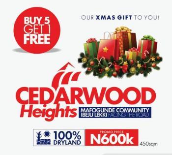 Cedarwood Heights, Mafogunde Community Facing The Express Road, Ibeju Lekki, Mafogunde, Ibeju Lekki, Lagos, Residential Land for Sale