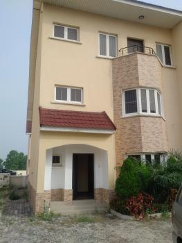 4 Bedroom Townhouse, Two Sitting Area with a Maids Room, Onikoyi Avenue, Royal Gardens Estate, Ajah, Lagos, Terraced Duplex for Sale
