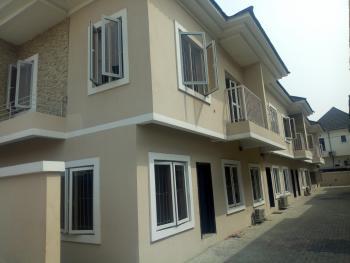 Newly Built Service 3 Bedroom Terrace Duplex with 1 Bq, Osapa, Lekki, Lagos, Terraced Duplex for Rent