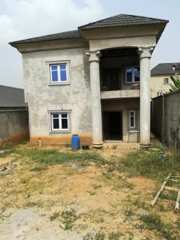 Partly Finished 4 Bedroom Detached House, By Princeston School - Orange Estate, Berger, Arepo, Ogun, Detached Duplex for Sale