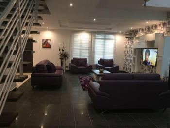 Luxurious 4 Bedroom Apartment with Excellent Facilities, Alma Beach Estate, Ikate Elegushi, Lekki, Lagos, Semi-detached Duplex Short Let