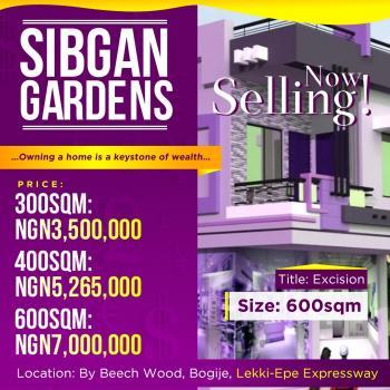 Sibgan Gardens Luxury Estate, Beside Beechwood Gardens, Bogije, Ibeju Lekki, Lagos, Residential Land for Sale