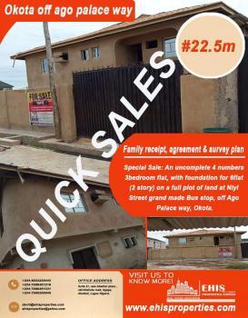 4 Flat for Sale, Ago, Okota, Okota, Isolo, Lagos, Flat for Sale