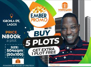 Dry Plots of Land - Buy 5 Get 1 Free, Epe, Lagos, Residential Land for Sale