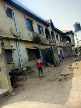 Storey Building Consisting of a 3 Bedroom Flat (3 Toilet & 3 Bathrooms), 2 Bedroom Flat ( 2 Toilets & Bathrooms), Mini Flat, 8 Rooms, 9, Alhaja Tanimowo Street, Agbado Junction, Opposite The Newly Constructed Bridge, Agbado, Ifo, Ogun, Block of Flats for Sale