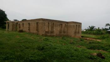 Uncompleted House with Land, Close to Osun State Airport, Osogbo, Osun, Terraced Bungalow for Sale
