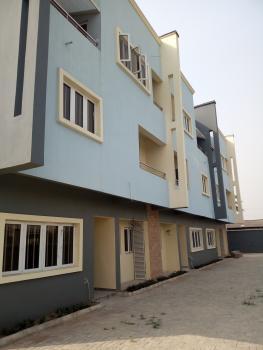 Brand New Serviced 4 Bedroom Terrace Duplex, Lekki Conservation Center, Before Chevron Toll Gate, Lekki, Lagos, Terraced Duplex for Rent