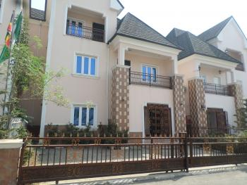 Estate 4 Bedroom, 2 Sitting + Bq, Guzape District, Abuja, Semi-detached Duplex for Sale