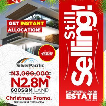 Hopewell Park Estate , Ibeju Lekki, Ibeju Lekki, Lagos, Land for Sale
