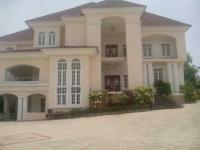 6 Bedroom Mansion (all En-suite) With Swimming Pool, 3 Sitting Rooms, Gym Room, Banquet Hall, Basement And 3 Room Boys Quarters Sitting On 2000 Square Metre, , Asokoro District, Abuja, 6 Bedroom, 7 Toilets, 6 Baths House For Sale