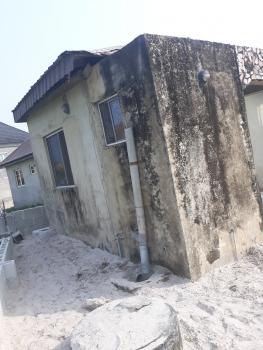Half Plot of Land, Finished Room and Parlor Mini Flat and a 3 Bedroom Foundation with Bore Hole, Opposite New Road Awoyaya, Awoyaya, Ibeju Lekki, Lagos, Detached Bungalow for Sale
