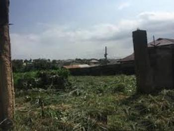 a Waterfront Fenced Land Measuring 2,558sqm with Bungalow and Jetty, Festac, Isolo, Lagos, Residential Land for Sale