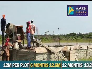 Plots of Land ,standard Size of 600sqm, Within Amen Estate Phase 2, Ibeju Lekki, Lagos, Land for Sale