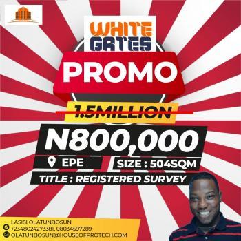 Buy 5 for Extra 1 Plot Or Buy 10 for Extra 3 Plots - Whitegates, Igbonla Road, Epe, Lagos, Residential Land for Sale