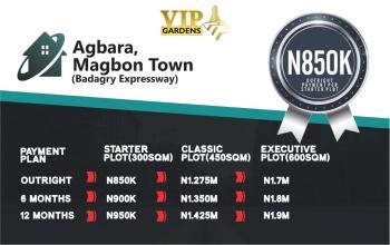 Vip Gardens, Agbara, Magbon  Town, Magbon, Badagry, Lagos, Residential Land for Sale