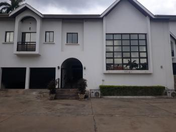 a Solidly Built 5bedrooms Fully Detached Duplex with 2 Rooms Servant Quarters & Large Green Area ( Serviced), Off Ibb Boulevard Way, Maitama District, Abuja, Detached Duplex for Rent