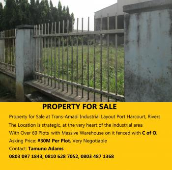 Land, Trans-amadi Industrial Layout, Trans Amadi, Port Harcourt, Rivers, Industrial Land for Sale