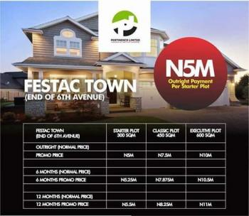 Land, End of 6th Avenue, Festac, Isolo, Lagos, Residential Land for Sale