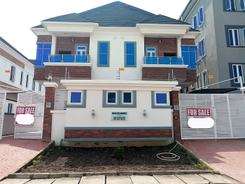 Exceptionally Designed 4 Bedroom Semi Detached Duplex with a Staff Quarters, Oral Estate, Immediately After The Second Toll Gate, Lekki Express Way, Lekki, Lagos, Semi-detached Duplex for Sale