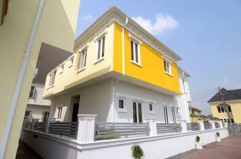 5 Bedroom Duplex, Pearl Gardens Estate ( Just Behind Shoprite ), Sangotedo, Ajah, Lagos, Terraced Duplex for Sale