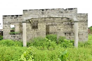 a 3 Bedroom Bungalow Uncompleted Structure on a Full Plot of Land, Badagry, Lagos, House for Sale