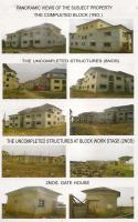 44 Flats Of Uncompleted Terrace Duplexes (housing Estate) With Empty Space, , Karmo, Abuja, House For Sale
