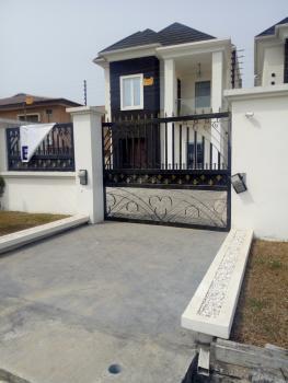Stylishly Built 5 Bedroom Fully Detached Duplex with 2 Rooms Bq, Atlantic View Estate, Alpha  Beach Road, Igbo Efon, Lekki, Lagos, Detached Duplex for Sale