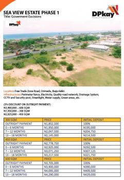 Dry Land, Free Trade Zone, Orimedu, Ibeju Lekki, Lagos, Mixed-use Land for Sale