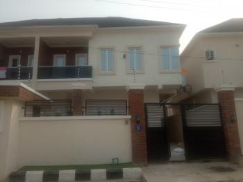 4 Bedroom Semi Detached Duplex with a Bq, Chevron Conservation Road, Chevy View Estate, Lekki, Lagos, Semi-detached Duplex for Rent