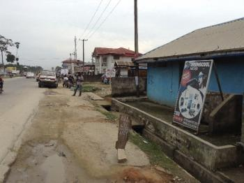 Commercial Property with Ware House, Along East West Road By Refinery Junction, Eleme, Rivers, Warehouse for Sale