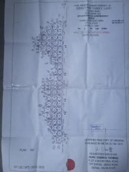Plots of Land at Npa Expressway;deco Rd;refinery Rd; Effurun-sapele/enerhen Road;ughelli-patani Road;ubeji;ugbomro; Iyara Street, Npa Expressway,deco Rd,airport Rd,refinery Rd,ughelli-patani Rd,ubeji,ugbomro,effurun-sapele/enerhen Rd. and Iyara Street., Warri, Delta, Land for Sale