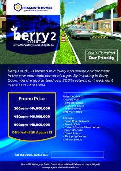Berry Courts Phase Ii, Off Monastery Road, Ajah, Lagos, Commercial Land for Sale