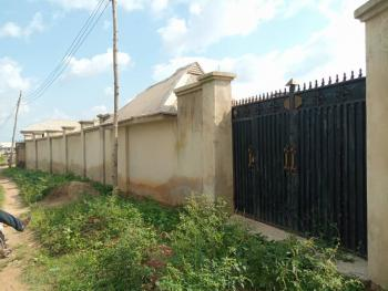 2 Bedroom Bungalow with Uncompleted 4 Bedroom Detached House on 2 Plot., Alaaka, Elebu Area, Off New Garage Apata New Express Road, Oluyole Extention, Ido, Oyo, Detached Bungalow for Sale