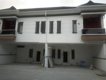Brand New Spacious 3 & 4 Bedroom Terraced Duplexes with Private Car Parks in a Mini Estate on a Finishing Process, Chevron Axis, Lekki, Lagos, Terraced Duplex for Sale