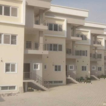 an Exquisitely Finished  4 Bedroom Terrace Duplex with a Room Bq, Guzape District, Abuja, Terraced Duplex for Rent