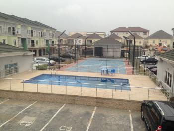 Luxury Service 4 Bedroom Terrace Duplex with Bq, Chevron Drive, Chevy View Estate, Lekki, Lagos, Terraced Duplex for Rent