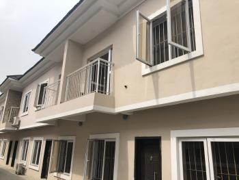 Serviced 3 Bedroom Terrace with a Room Bq, Behind Circle Mall, Osapa, Lekki, Lagos, Terraced Duplex for Sale